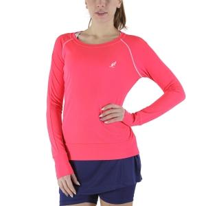 Women's Tennis Shirts and Hoodies Australian Logo Shirt  Psyco Red TEDTS0003419