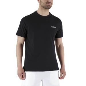 Camisetas de Tenis Hombre Australian Piquet Camiseta  Nero LSUTS0003003
