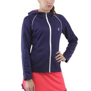 Chaquetas de Tenis Mujer Australian Player Chaqueta  Blu Cosmo TEDGC0001842