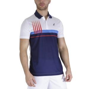 Men's Tennis Polo Australian Printed Player Polo  Cosmo TEUPO0001842