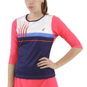 Camisetas y Sudaderas Mujer Australian Printed Stripes Player Camisa  Psyco Red TEDTS0001419