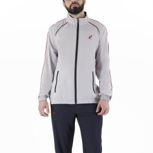 Men's Tennis Suit Australian Slam Classic Bodysuit  Ash/Navy Blue LSUTU0050733