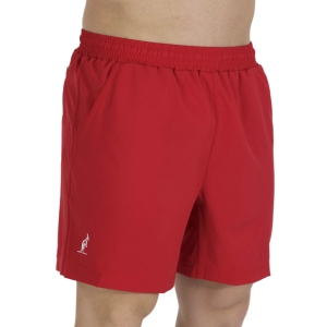 Men's Tennis Shorts Australian Slam 6in Shorts  Tango Red TEUSH0004930