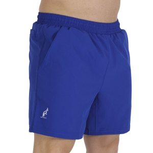 Men's Tennis Shorts Australian Slam 6in Shorts  Royal Blu TEUSH0004B54