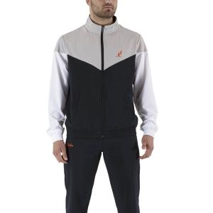 Men's Tennis Suit Australian Slam Bodysuit  Black/Cenere Ash LSUTU0044003
