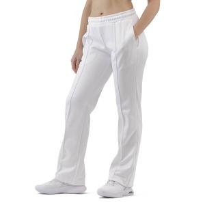 Pantalones y Tights de Tenis Mujer Australian Zipped Pantalones  Bianco TEDPA0001002