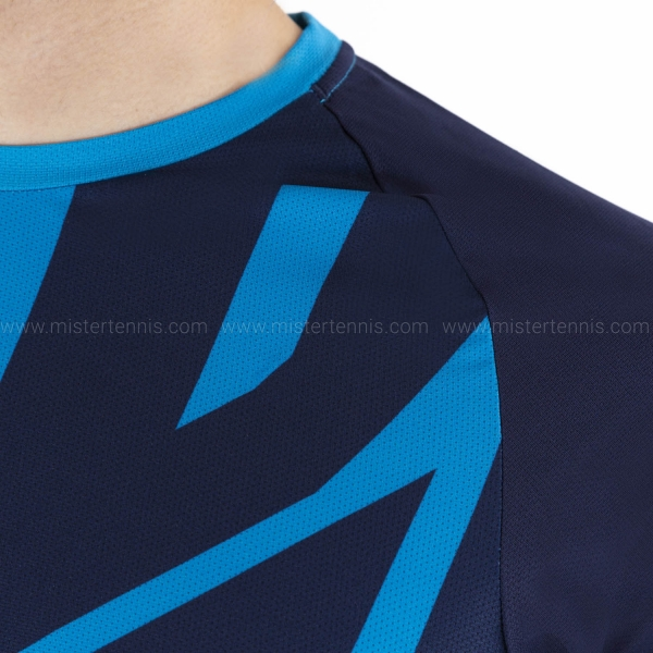 Babolat Drive Crew T-Shirt - Drive Blue