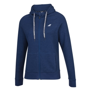 Tracksuit and Hoodie Girl Babolat Exercise Hoodie Girl  Estate Blue Heather 4GP11214005