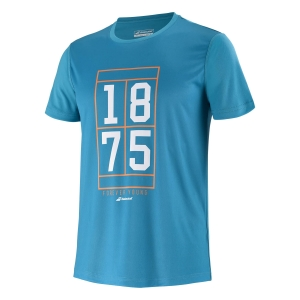 Tennis Polo and Shirts Babolat Exercise Graphic TShirt Boy  Caneel Bay 4BTB0174080