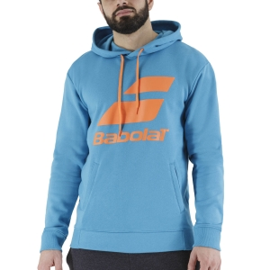 Men's Tennis Shirts and Hoodies Babolat Exercise Hoodie  Caneel Bay 4MTB0414080