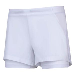 Shorts and Skirts Girl Babolat Exercise 3in Shorts Girl  White 4GP10611000