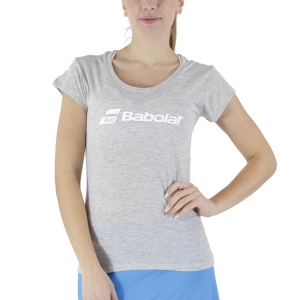 Women`s Tennis T-Shirts and Polos Babolat Exercise TShirt  High Rise Heather 4WP14413002