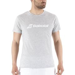 Babolat Exercise T-Shirt - High Rise Heather