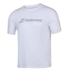 Babolat Exercise T-Shirt Boy - White