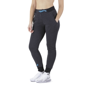 Women's Tennis Pants and Tights Babolat Exercise Pants  Black Heather 4WP11312003