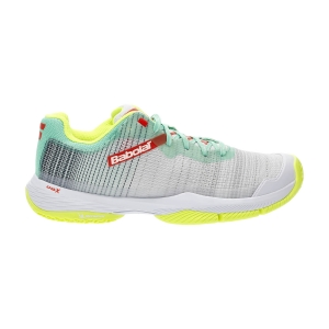 Padel Shoes Babolat Jet Ritma  Grey/Spring Bouquet 31S217533023
