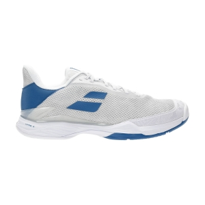 Men`s Tennis Shoes Babolat Jet Tere All Court  White/Saxony Blue 30S216491062