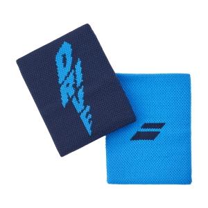 Polsini Tennis Babolat Logo Jumbo Polsini  Drive Blue 5UA12624086