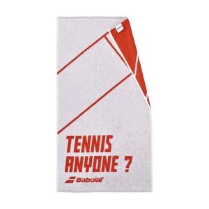 Asciugamani da Tennis Babolat Graphic Asciugamano  White/Cherry Tomato 5UA13911054