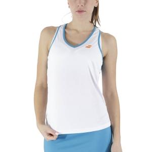 Women`s Tennis Tanks Babolat Play Tank  White Caneel Bay 3WTB0711048