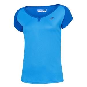 Top y Camisetas Niña Babolat Play Cap Camiseta Nina  Blue Aster 3GP10114049