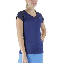 Babolat Play Cap T-Shirt - Estate Blue