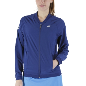 Chaquetas de Tenis Mujer Babolat Play Chaqueta  Estate Blue 3WP11214000