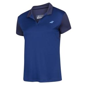 Top y Camisetas Niña Babolat Play Polo Nina  Estate Blue 3GP10214000