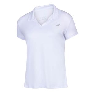 Top and Shirts Girl Babolat Play Polo Girl  White 3GP10211000