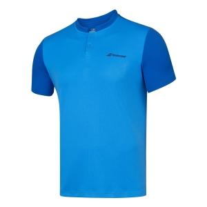 Tennis Polo and Shirts Babolat Play Polo Boy  Blue Aster 3BP10214049