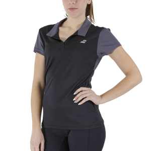 Women`s Tennis T-Shirts and Polos Babolat Play Polo  Black 3WP10212000