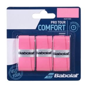 Overgrip Babolat Pro Tour x 3 Overgrip  Pink 653037156