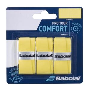 Overgrip Babolat Pro Tour x 3 Overgrip  Yellow 653037349