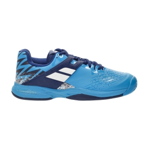 Junior Tennis Shoes Babolat Propulse All Court Junior  Drive Blue 33S214784086