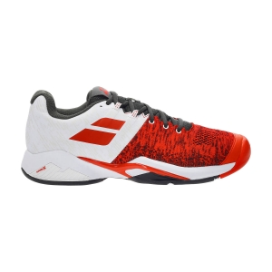 Men`s Tennis Shoes Babolat Propulse Blast All Court  Cherry Tomato/White 30S214425050