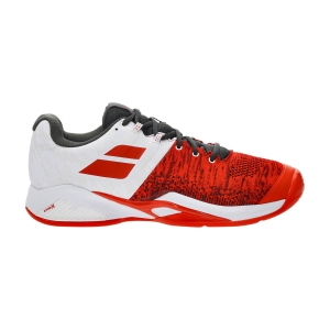 Men`s Tennis Shoes Babolat Propulse Blast Clay  Cherry Tomato/White 30S214465050