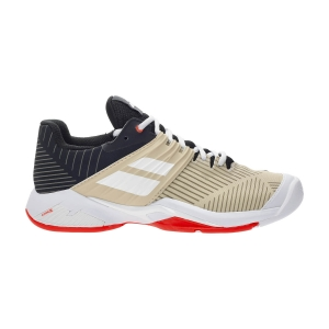 Women`s Tennis Shoes Babolat Propulse Fury All Court  Black/Beige 31S214772026