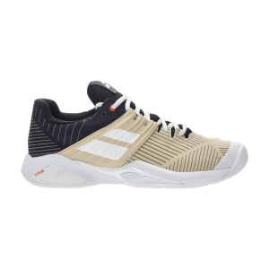 Women`s Tennis Shoes Babolat Propulse Fury Clay  Black/Beige 31S215542026