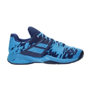 Men`s Tennis Shoes Babolat Propulse Fury Clay  Drive Blue 30S214254086