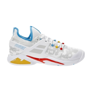 Men`s Tennis Shoes Babolat Propulse Rage All Court  White/Diva Blue 30S217691010