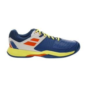Men`s Tennis Shoes Babolat Pulsion All Court  Dark Blue/Sulphur Spring 30S213364087