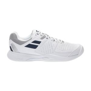 Men`s Tennis Shoes Babolat Pulsion Clay  White/Estate Blue 30S213461005