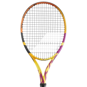 Babolat Pure Aero Tennis Racket Babolat Pure Aero Rafa  Yellow/Orange/Purple 101455