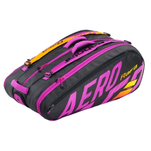 Bolsa Tenis Babolat Pure Aero Rafa x 12 Bolsas  Black/Orange/Purple 751215363