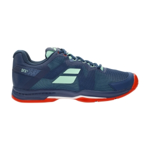Men`s Tennis Shoes Babolat SFX3 All Court  Majolica Blue 30S215294092