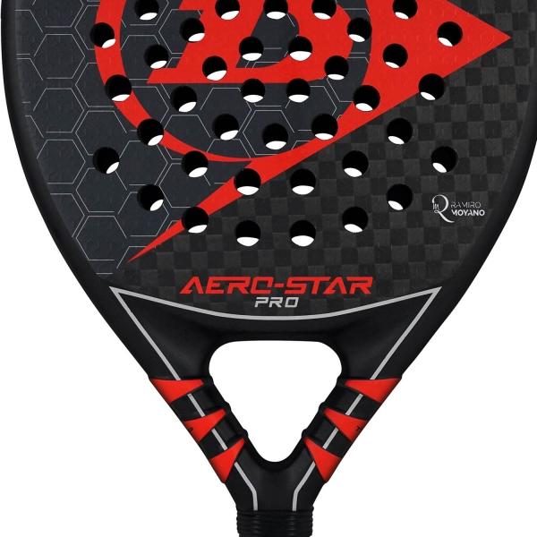 Dunlop Aero Star Pro Padel - Black/Red