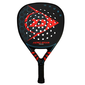Padel Racket Dunlop Aero Star Team Padel  Black/Red 10312145
