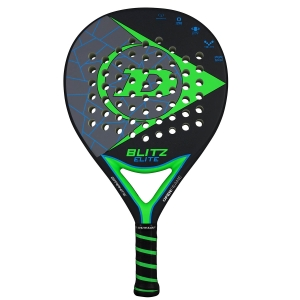 Padel Racket Dunlop Blitz Elite Padel  Black/Grey/Green 10312146