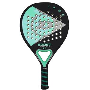 Racchetta Padel Dunlop Boost Control 2.0 Padel  Black/Green 10312149