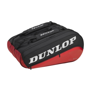 Bolsa Tenis Dunlop CX Performance x 12 Thermo Bolsas  Black/Red 10312710